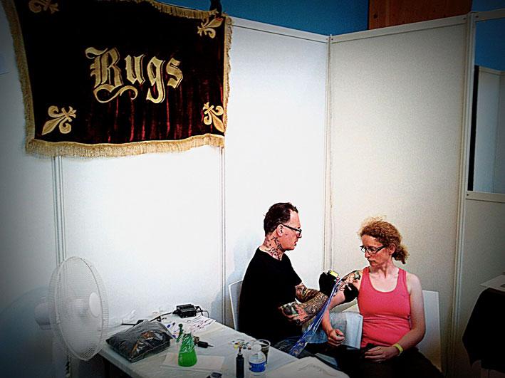 Bugs au Cantal Ink 2013.