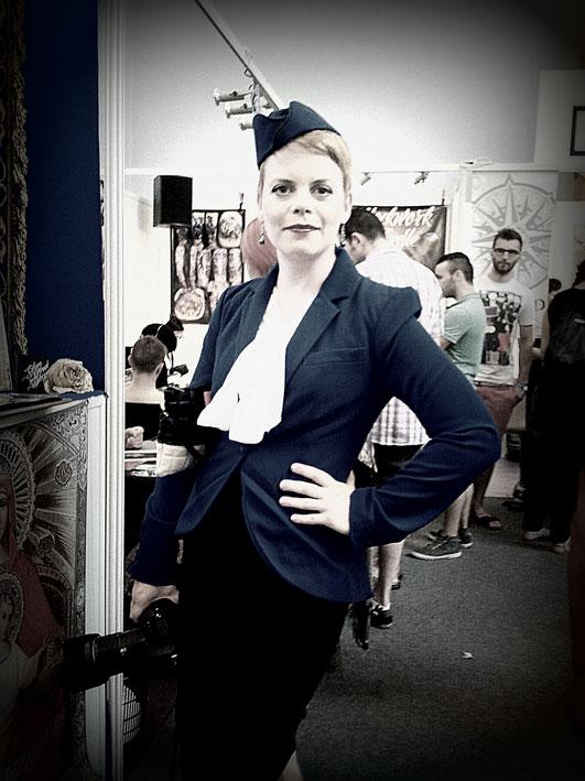 Mikaela Holmberg au Cantal Ink 2013.
