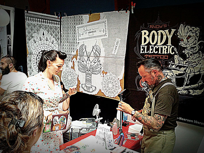 Body Electric au Cantal Ink 2013.
