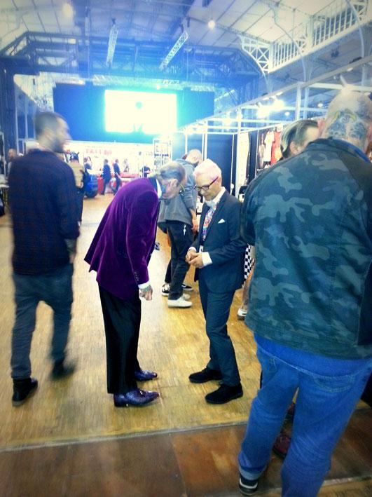 Bill Salmon et Kari Barba au Mondial du Tatouage 2017.