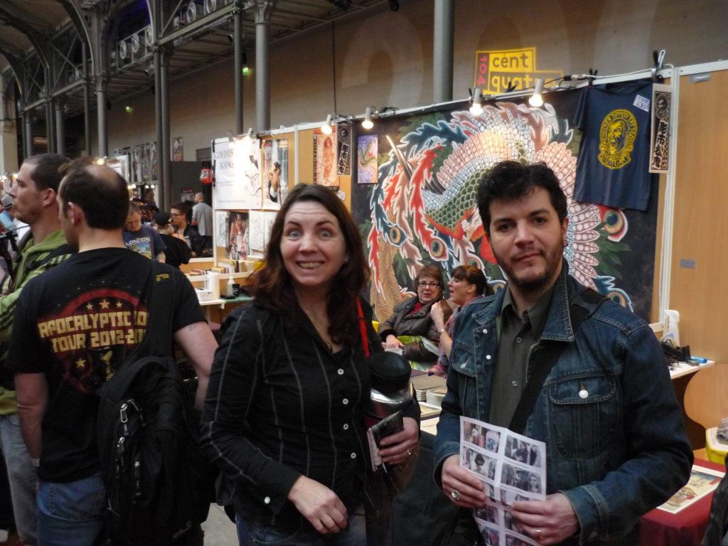 Birgit Paanakker et Marco Zilveti au Mondial du Tatouage 2013.