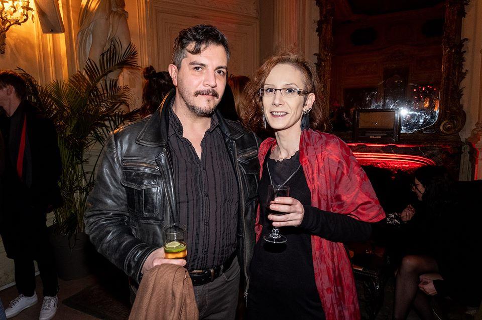 Avec Lili. Soirée privée_Lancement du Mondial du Tatouage_2019 ©Marie Manson_Déclics & Pix'elle (Tous droits réservés)